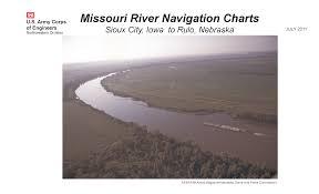 Missouri River Depth Chart Missouri River Navigation Charts Sioux City Iowa To Rulo