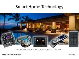 Smart Home Technology L i v e a b l e c o m m u n i t y f o r y o u r f u t  u r eDELAWARE ...