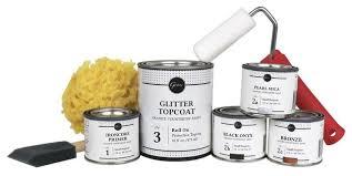 giani small project countertop paint kit ay black