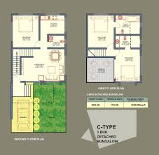 single story row house floor plan living room designs for small plans india teak county khed