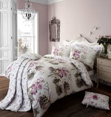 french victorian purple rose bedding full queen vintage duvet cover set