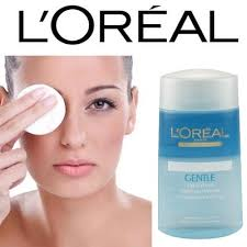 loreal gentle lip and eye make up remover 125ml