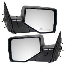 Driver and Passenger Manual Side View Mirrors Replacement for Ford ...