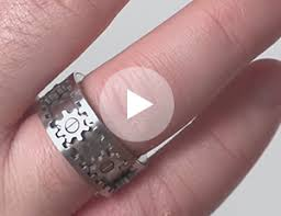 gear wedding rings. videos gear wedding rings