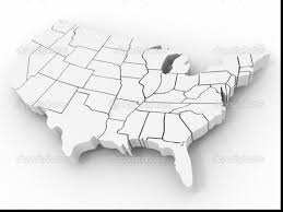 Small Picture wonderful united states coloring page with united states map