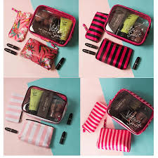 victoria s secret one set 3 in one makeup box 11street msia clutches wrislets