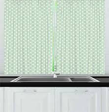 Polka Dot Kitchen Curtains