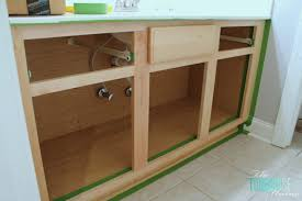 the average diy girl s guide to painting cabinets diy kitchen sink cabinet