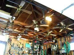 ceiling fan display in my garage