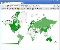 Generating Google Visualization Geomap With Sas