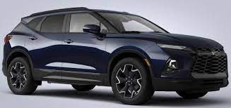 2020 Chevrolet Blazer New Midnight Blue Metallic Color Gm Authority 2020 Chevrolet Chevyblazer Chevrolet Blazer Chevrolet Chevy