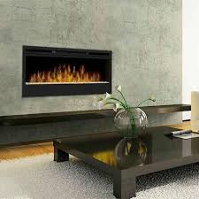 dream napoleon 50 inch linear wall mount electric fireplace