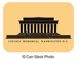 lincoln memorial building clipart. lincoln memorial an illustration of in building clipart e