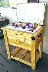 patio cooler stand plans patio coolers with stands ice chest on stand outdoor cedar cooler wooden