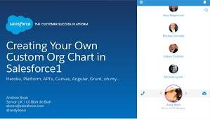 Creating Your Own Custom Org Chart In Salesforce1