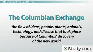 the columbian exchange video lesson transcript com