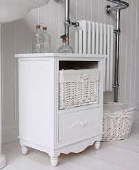 small bathroom storage furniture. side view of the rose white bathroom storage cabinet small furniture