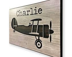 kid s room decor airplane art airplane