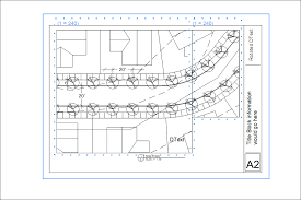 in layout create a scaled drawing from existing geometry