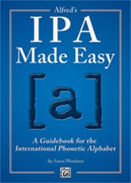 The phonetic alphabet used for confirming spelling and words is quite different and far more phonetic spelling alphabet. Alfred Alfred S Ipa Made Easy A Guidebook For The International Phonetic Alphabet Samash