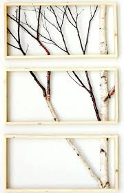 diy inspiration aus naturmateralien eingerahmte birkenzweige framed birch art totally going to do this with my old vintage window or this way  on birch branch wall art with i am in love with these framed birch trees proyectos pinterest