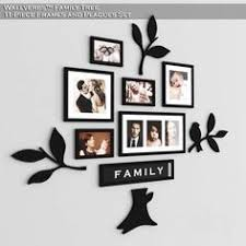 oshi pk offers unique wallverbs family tree acrylic wall art at best price in pakistan on family tree wall art picture frame with frame set family tree 2mm thick shinny finish wall art modern style