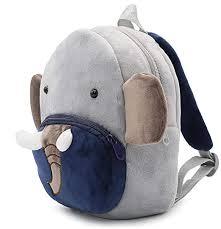 Toddlers Soft Plush <b>Elephant Backpack</b> Kids <b>Small</b> Cute Animal ...