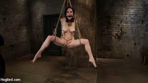 Crotch rope suspension bondage