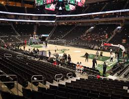 Fiserv Forum Seating Chart Milwaukee Bucks Fiserv Forum Section 115 Seat Views Seatgeek