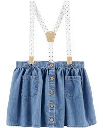 Polka Dot Suspender Skirt Carters Com
