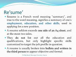 Skills Based Resume Curriculum Vitae Resume Evaluation Meaning Cv  Throughout Definition Of Resume 6259