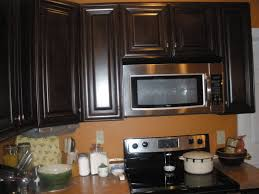 Refinish Kitchen Cabinets Refinishing Stained Kitchen Cabinets Monsterlune
