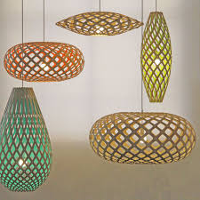 woven lamp cord shade oak shades aboriginal light diy wire floor