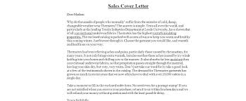 Sales And Marketing Cover Letter Stunning Cover Letter Examples For Sales Jobs Cover Letters Sales Sample