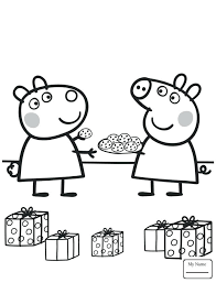 Peppa Pig Coloring Pages To Print Coloring Page Pig Free Printable