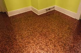 Penny Kitchen Floor Similiar Copper Penny Floor Keywords