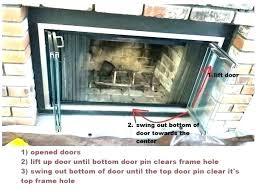 how to install a fireplace door installing fireplace doors replacement fireplace doors installing glass fireplace doors