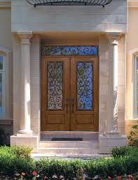 pre hung double door 96 fiberglass palermo 1 panel 3 4 lite gbg glasstraditional entry tampa