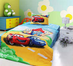 lightning mcqueen bedding full size new blue lightning mcqueen cars bedding sets single twin size bedclothes