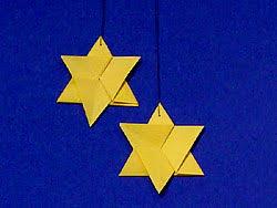 Stern Anhänger Für Den Weihnachtsbaum Basteln Gestalten