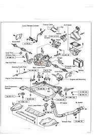 toyota camry i have a 94 camry a manual transmission the filler plug is at the red circle in the diagram it s the same size as the drain plug on the bottom 24mm do not remove any or the smaller plugs you