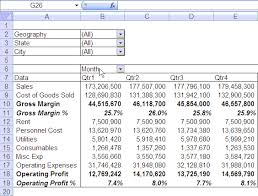 What Is Profit Loss Quarterly Half Yearly Profit Loss Reports In Excel Part 5 Of 6