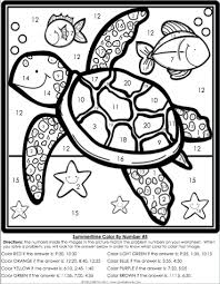 Small Picture Color By Number Printables For 2nd GradeByPrintable Coloring