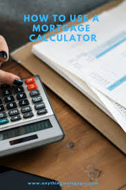 Comprehensive Mortgage Calculator If You Are A First Time Home Buyer You May Not Understand