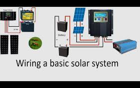 wiring diagram for solar battery charger wiring diagrams wiring diagram for solar battery charger how to wire a 12 volt or a 24 volt solar system a pwm or an mppt solar charge controller diy eforall