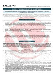 Awesome Executive Resume Template Senior Management Manufacturing