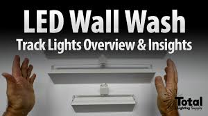 track lighting on wall. LED Wall Wash Track Lighting Fixture Overview \u0026 Insights - Lightfair 2017 Ep.1 On