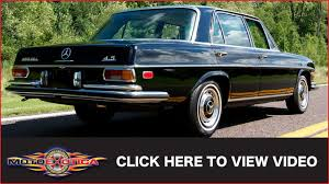 This is a 1972 mercedes 280se 4.5 sedan in excellent condition. 1972 Mercedes Benz 280 Sel 4 5 Sold Youtube