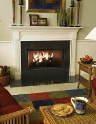 wood burning zero clearance fireplaces