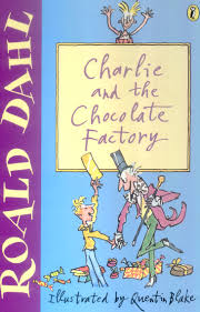 roald dahl a writer who inspires me by rebecca leeming jacket design of charlie and the chocolate factory